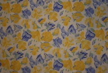 Periwinkle and yellow / by Kristine Wade