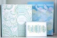 Sarah Richardson Collection by Hallmark / Hallmark Canada is very excited to introduce the new Sarah Richardson Collection exclusively available at participating Hallmark Gold Crown stores in Canada. It includes greeting cards, gift wrap and bags, stationery and journals.