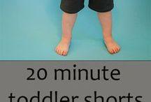 Kraťasy, kalhoty