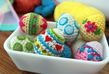 Criss cross crochet easter / by natasja Koekoek
