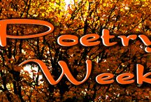 Poetry Week / Poetry Week is a week long event on A Life Among the Pages, showcasing poets and poetry in general. It's an attempt to get more people to give poetry the time of day, and to hopefully show them that poetry doesn't have to be old and stuffy; it can be fun and enjoyable.