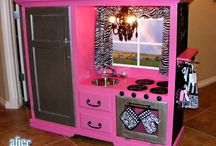 Girls Bedroom Ideas! / by Lisa Thur- Lambert