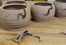 Pottery-yarn bowls / by Rose Sarich