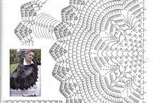 かぎ針編みショール
