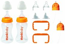 Safe thinkbaby Baby Products / We offer a wide selection of baby bottles free of BPA at GetN'Green. As parents, we also have experienced, recently, the growing concerns over baby bottles and sippys which are not labeled BPA Free. We have been on a personal quest to find companies that would be able to provide us with a non-leaching, toxin-free safe alternatives. We now carry many sizes and different brands which are all free of harmful toxins and safe. Choose from thinkbaby and Klean Kanteen.