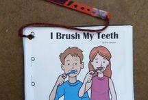 I brush my teeth booklet