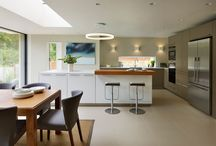 Case Study - bulthaup b3 Family Kitchen Dining Space