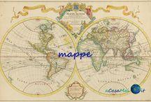 Mappe dal mondo / Mappe di stranezze o particolarità dal mondo proposte dal sito www.acasamai.it...