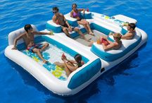 Miami Floatopia / Ideas for pool floats, beach toys, and other outdoor essentials for the annual Miami Beach Floatopia