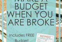Budget. Saving.