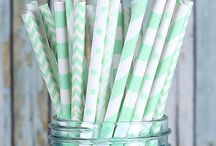 Mint Wedding & Party Inspiration / Explore our board of mint green wedding and party ideas, supplies and more!