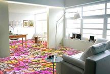Revêtement de sol paysage trompe l'oeil effet 3D personnalisé