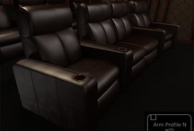 The N Series / by Elite Home Theater Seating