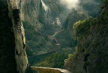 Décors nature montagnes