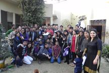 Spreading Noise with Udayan Care Students / CSR initiative to encourage social responsibility and involving students in fun activities by Gonoise team