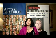 Life Changing Opportunities / Programs offered by Blair Singer or endorsed by Blair Singer
