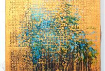 Gold Series / Oil paintings by Eugene Gregan on hand stretched 100% Belgian linen with Gold Prime. Hand ground Dutch pigments. Heirloom Quality.
