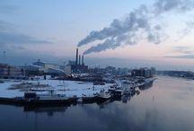 View from my Windows. / Copenhagen harbour