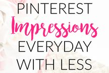 Building a following on Pinterest