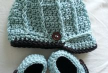 Crochet Ideas for baby gifts or for my nieces and nephews / by Connie woodrow