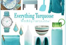 Turquoise favorites
