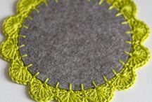 Quilting crochet