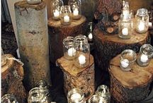 WEDDINGS - Rustic/Vintage Decor / by Miranda Fleming