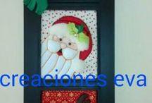 cuadros de madera navideños