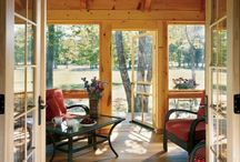 Outdoor Living | Strongwood Log & Timber Homes