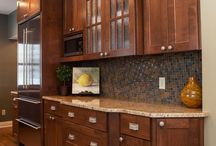 kitchen cabinets / by Sherry Peck