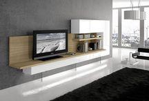 Salones modernos / Mobiliario para salones modernos
