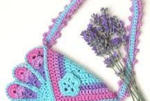 crochet  in a bag (bag, purse,  etc.)