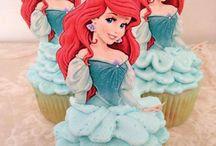 Cupcakes sirenita