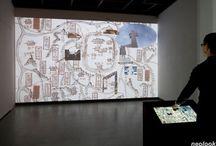 MEDIA_interactive art/media wall