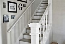 Stair wall deco