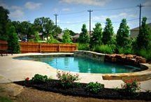 Freeform Pools / Freeform pools examples by Puryear Custom Pools