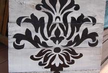 decoraciones, damask
