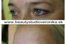 Augenbrauen-Härchenlinien / Hochqualifizierte professionelle Kosmetikerin und Tätowierung-Profi für Permanent Make-ups und medizinische Mikropigmentierung (Vitiligo, Areolen, Narben)
