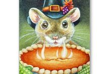 Thanksgiving Cards for Animal Lovers
