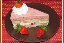 Nepečené dorte