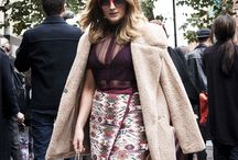 Street Style spotted at London Fashion Week / For some every day is a catwalk! Check out what's hot on the high street now, as seen at London Fashion Week #LFW. Get the latest looks here http://bit.ly/1MlzatE / by George at Asda