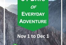 31 Days of Everyday Adventure / Every day can't be an amazing bucket list travel adventure, but we can choose to be a little adventurous every day. From Nov 1 to Dec 1, I'm hosting a 31 Days of Everyday Adventure challenge on TheGoalList.com, with suggested activities to stretch us to get out of our comfort zones and celebrate the small moments of our lives.  Join in at https://thegoallist.com/31-days-of-everyday-adventure/