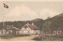 Møllehuset i gamle dage / Billederne er venligst udlånt af KYSTmuseet