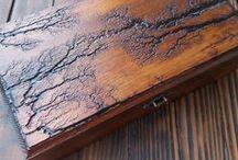 Drewno wypalone