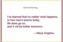 Inspiring Quotes / by Marlo Thomas
