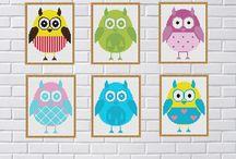 Cross Stitch Owl / Cross Stitch  pattern Owl