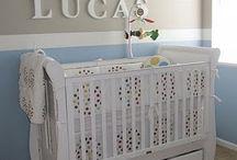 Nursery blue beige