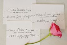 Invitations / by Gillian Morgan