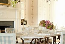 Dining room / dining room, decor, design, ideas, interior, furnishings