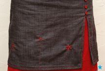 Sy strikke nederdel